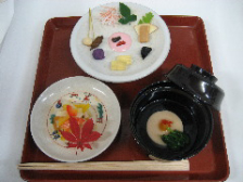 珠光茶会期間中、和風薬膳ミニ茶懐石