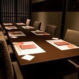 テーブル個室x3