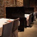 【半個室】 テーブル席(6~26名様)、お座敷堀こたつ席(2~4名様×7部屋・最大28名様)