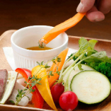 【直送!こだわり野菜】 大人気のバーニャカウダでどうぞ!