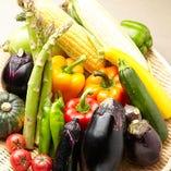 おいしいお野菜もいっぱい!