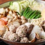 旨塩出汁の贅沢★海鮮ちゃんこ鍋