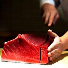 四季の旬を彩るこだわり鮮魚を堪能