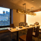 新宿駅前の夜景が見えるテーブル個室。御接待などにも最適です。