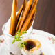 さつま芋のフリット、マスカルポーネとコンフィチュール(^^)