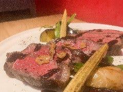 アンガス牛サーロインのステーキ バルサミコソース(180g)
