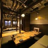 【個室】 最大40名様までの掘りごたつ個室!宴会に大人気!