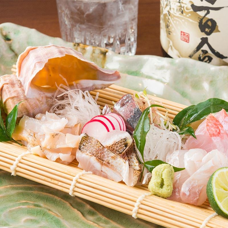 【宴会も本気】 三浦鮮魚や大山軍鶏を堪能宴会!