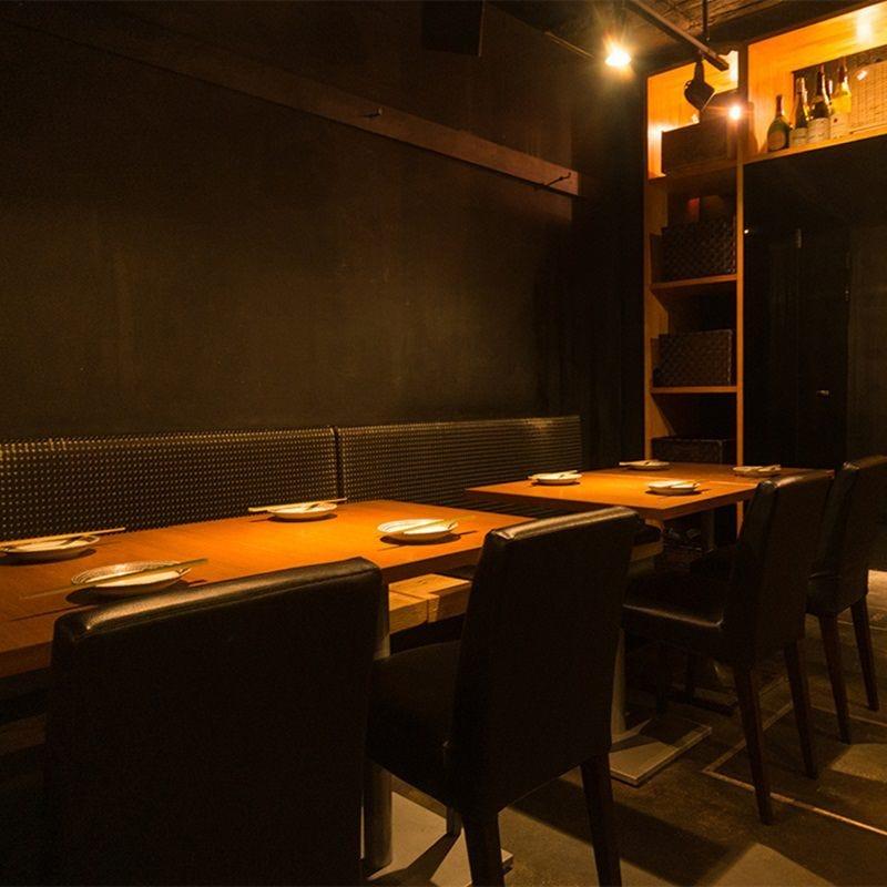 テーブル席・3名様~8名様