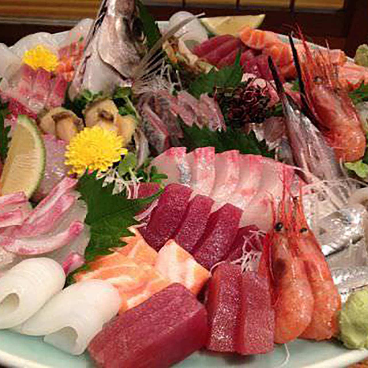 職人歴約50年の大将が作る鮮魚料理