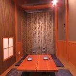 2階【座敷の完全個室/8名様~】周りを気にせず楽しみたい飲み会やお食事会に