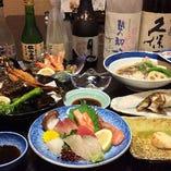 職人歴約50年の大将が地元、瀬戸内の魚料理をご提供いたします。