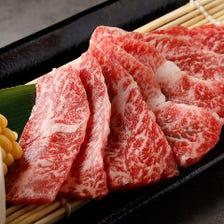 【焼肉】時短コース飲み放題付90分6,000円 お肉が7種類も登場☆クーポンで5,500円に♪