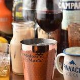 コースは全て飲み放題付!生ビール、ワイン、カクテルなど全50種をお好きなだけお楽しみいただけます