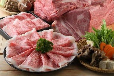 牛しゃぶ牛すき食べ放題 但馬屋 豊洲店 コースの画像