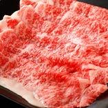お肉はオーダーごとにスライス!肉の旨味を逃しません。