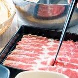 ■・・・スタンダードーしゃぶしゃぶ(すき焼き)90分食べ放題コース・・・■
