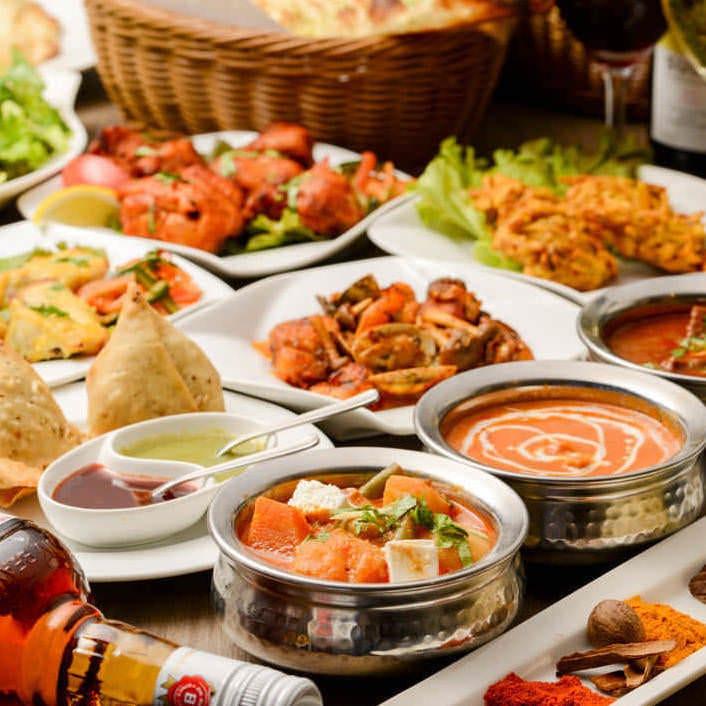 自慢のインド料理を堪能ください!