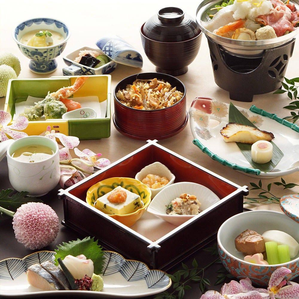和食を楽しむ『和会席』水茄子・海老の帆立射込み・塩麹鍋 他 全11品 6,500円