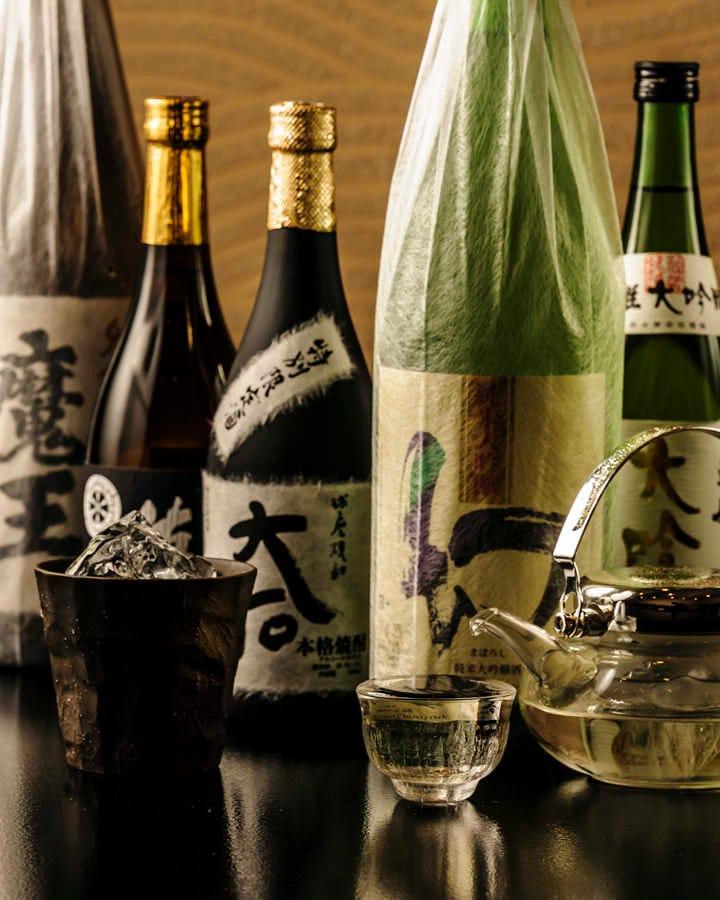 焼酎 日本酒 多数ご用意