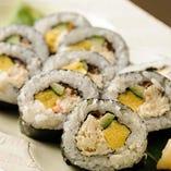 蟹太巻き寿司