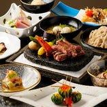 おまかせコースは5,000円~ご用意!厳選した食材でおもてなし。