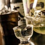 こだわりの厳選した日本酒が豊富。(誠鏡 幻/三千盛/澪etc)