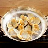 【おすすめ!!】白蛤(ホンビノス貝)の酒蒸し