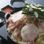 もつ鍋水炊き風or肉鍋