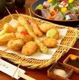 旬の食材を使用したお料理の数々