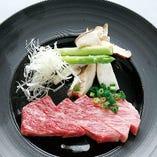 牛サーロインステーキ 〜おろしポン酢ジュレ〜