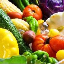 こだわり農家から仕入れる新鮮野菜