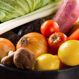 新鮮な野菜を使用した串焼きも美味♪焼鳥とご一緒にお愉しみください
