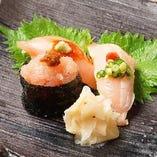 鶏寿司(3貫)