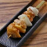 秋田比内地鶏 or 名古屋コーチンの一本串