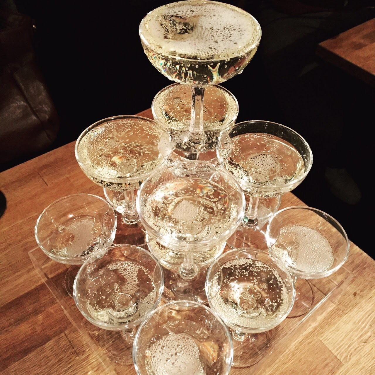 1年に一度のお誕生日シャンパンタワーで乾杯コース!