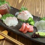 仕入れ+鮮度に自信ありの鮮魚をお楽しみください!
