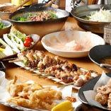 【神田 西口 鶏料理】 鶏×国産ワインor地酒のマリアージュ♪