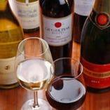 [シェフ厳選]世界の絶品ワインが充実!