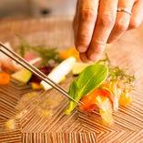 【豊富な経験と想いを胸に】 今日も美味なる一皿をお作りいたします