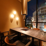 今宵の会食はあたたかな光と夜景に包まれた特別な空間で【テーブル個室(4名様まで)】