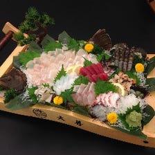 新鮮活魚メニュー