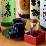 【厳選!日本酒】 日本各地のお酒やヴィンテージなど豊富