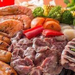 2大肉食べ放題×BBQ HIPA HIPA(ヒパヒパ)