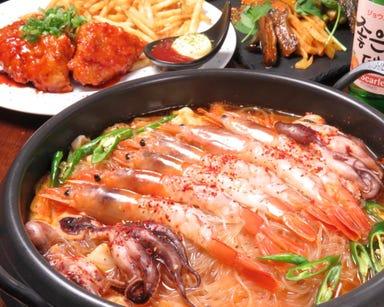 韓国料理 韓バルイチサン 梅田東通り店 コースの画像