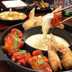 秘伝のスンドゥブチゲ×鶏ギョプサル 韓バルイチサン 梅田堂山