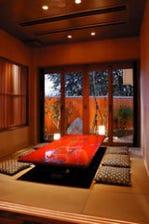 ゆったりとした個室