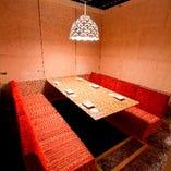 長居したくなる雰囲気自慢の個室にご案内致します♪予約可能です