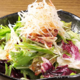 お野菜たっぷり♪チョレギサラダは人気です!