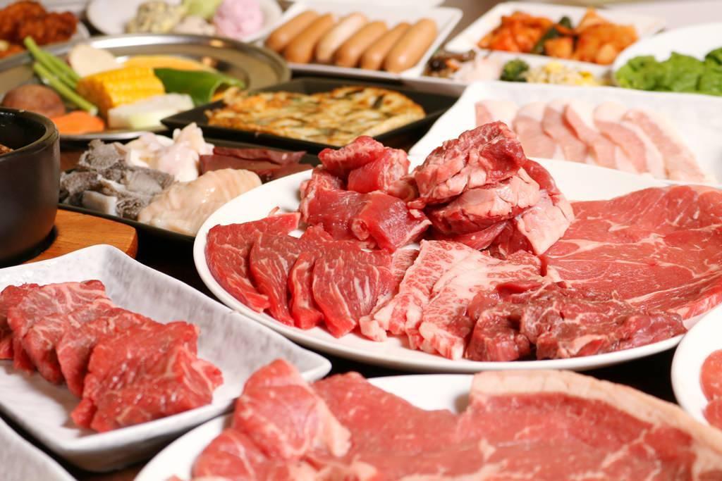【勝っちゃんいち押し】焼肉食べ放題 満足コース3,000円